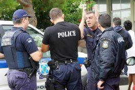 Συνελήφθησαν Πέντε Άτομα Για Παράβαση