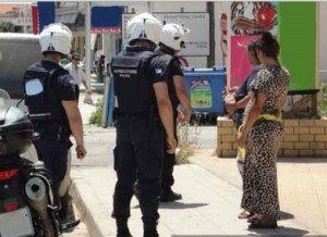 σύλληψη ρομά