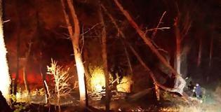 φωτιά στο Μονολίθι