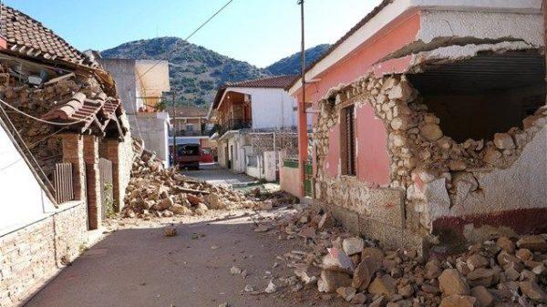 σεισμική δόνηση Θεσσαλία