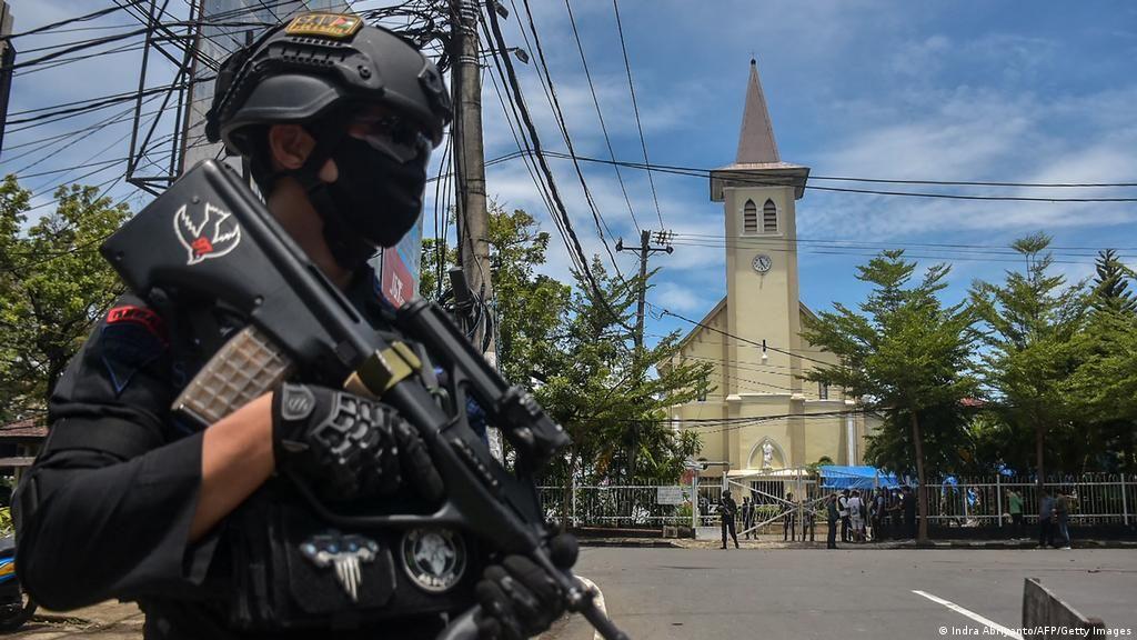Ινδονησία Νεκρός Βομβιστής Αυτοκτονίας