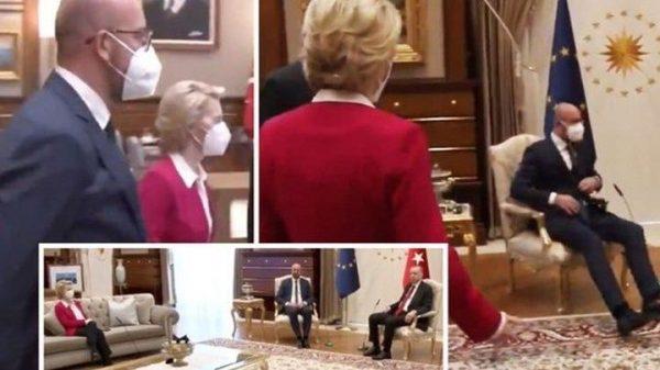 Φον Ντερ Λάιεν Ερντογαν Και Ουσία