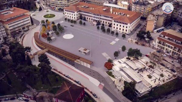 Ιωάννινα κεντρική πλατεία - το σχέδιο ανάπλασης