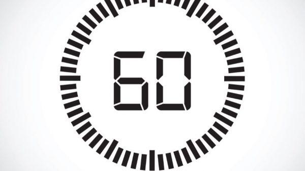 Τι Θα Έκανες Αν Είχες Μόνο 60 Δευτερόλεπτα