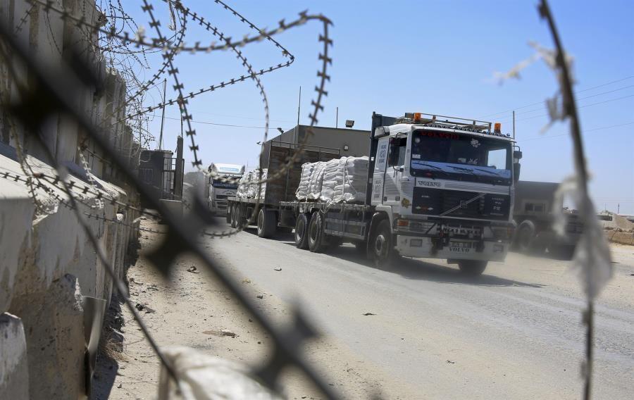 Γάζα - Έκλεισε το πέρασμα Κερέμ Σαλόμ