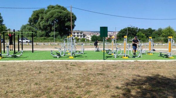 Ιωάννινα - Το πρώτο υπαίθριο αθλητικό πάρκο